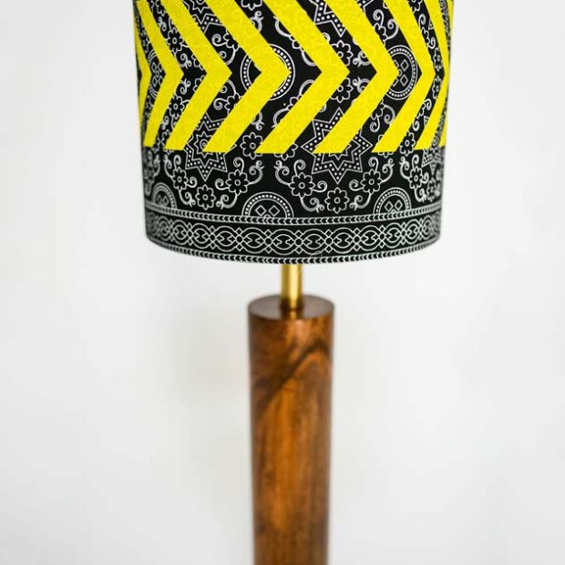 Ajrak Lamp - Black