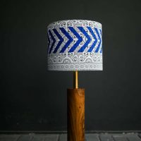 Ajrak Lamp - White