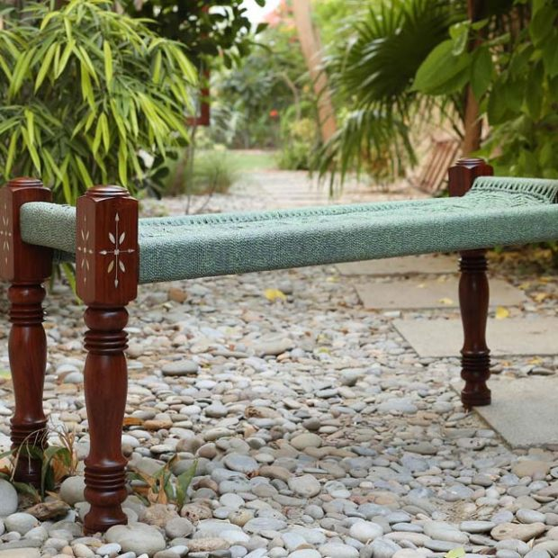 Charpai Bench - Wooden
