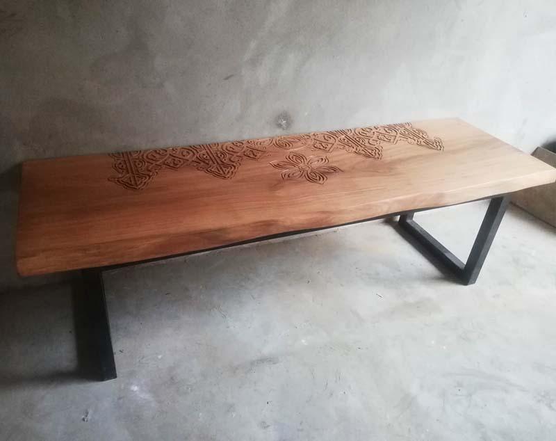 Panr Bench - Live edge