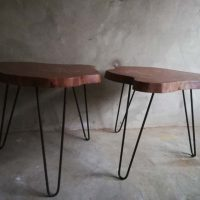Side Tables - Live edge