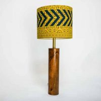 Ajrak Lamp - Yellow
